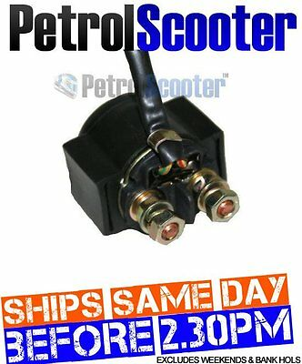 Solenoid Starter Motor Relay Fits Skateboards Petrolscooters Buggies Quads Bikes