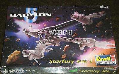 STARFURY MK 1 Original Fighter Model Kit MISB Babylon 5 Revell Monogram B5 Five