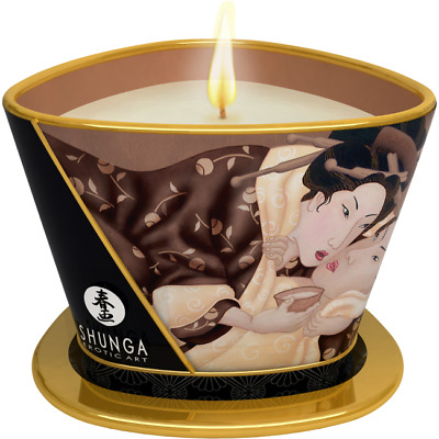 candela da massaggio Shunga Erotic Art Excitation - Cioccolato