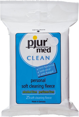 salviettine Pjur Med Clean Fleece