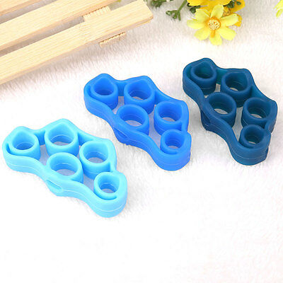 Finger Rehabilitation Grip Strengthener Training Silicone Ring Expander