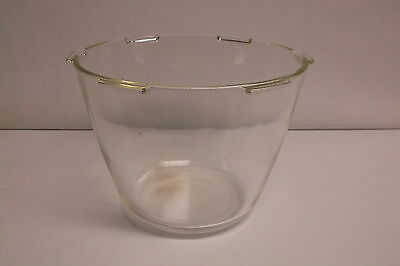 Vintage Clear Glass Robeson Electric Corn Popper Replacement Lid