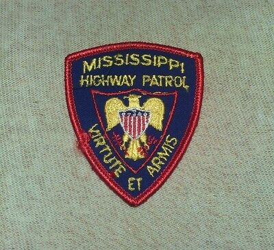 MS Mississippi Highway Patrol Police Patch (3In)