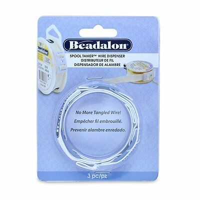 Pack of 3 Beadalon Spool Tamer's - Adjustable Wire Dispenser