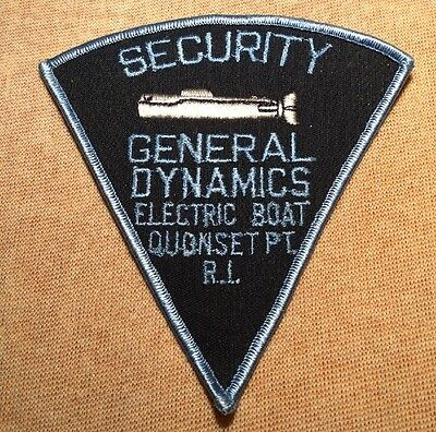 RI General Dynamics Electric Boat Quonset Point Rhode Island Security Patch