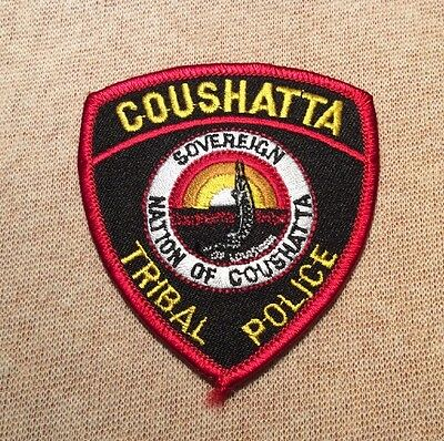 LA Coushatta Tribe Louisiana Tribal Police Patch (3.25In)