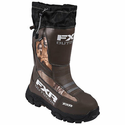 FXR Mens & Womens Realtree™ Xtra Snowmobile Excursion Boots Snocross