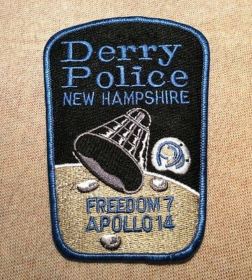 NH Derry New Hampshire Police Patch