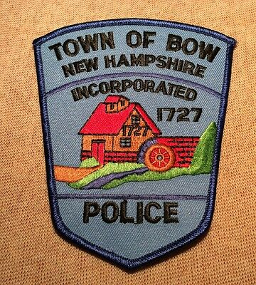 NH Town of Bow New Hampshire Police Patch