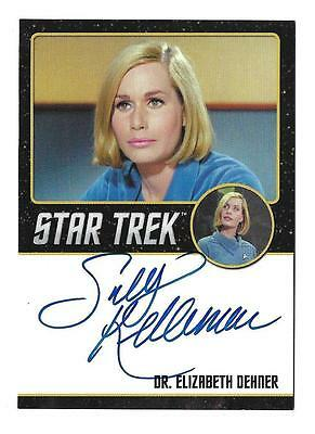 Star Trek TOS 50th Anniversary Autograph Sally Kellerman as Dr. Very Limited