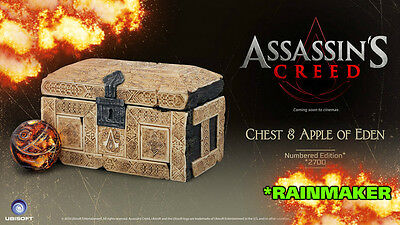 Assassin's Creed Movie CHEST+APPLE OF EDEN Limited Edition Box / statue /figure