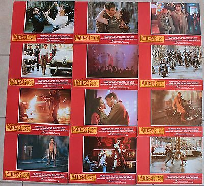 Michael Pare Streets of Fire Diane Lane lobby card set 12 Amy Madigan