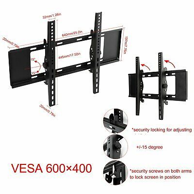 Tilt Swivel LCD 3D TV Bracket Wall Mount For Samsung LG 10 22 24 26 30 32 37 42