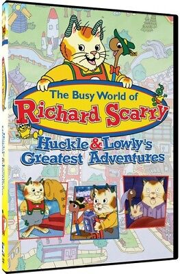 The Busy World of Richard Scarry: Huckle & Lowly's Greatest Adventures [New DVD]