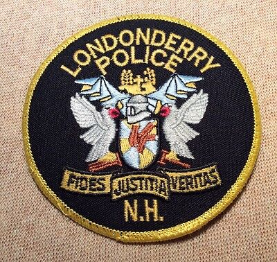 NH Londonderry New Hampshire Police Patch