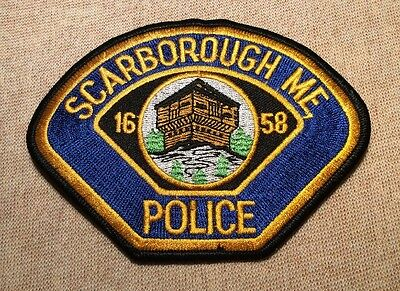 ME Scarborough Maine Police Patch