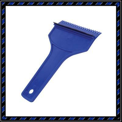 Carplan Car Snow & Ice Scraper With Squeegee - Blue/ 10Cm
