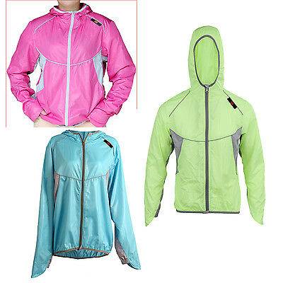 Men Women Sports Jersey Running Cycling Bicycle Windproof Sleeve Coat Jacket HY