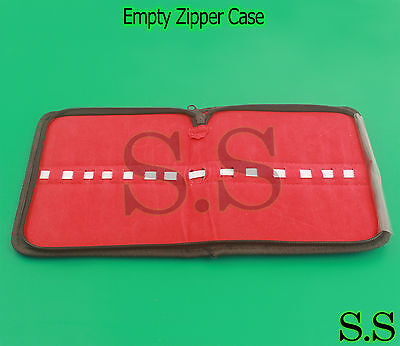 Empty Zipper Case for Surgical Instruments