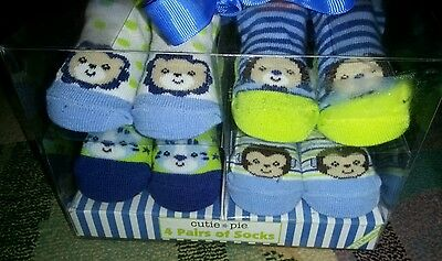 infant booties/boy socks bundle *Brand New* Gift Set