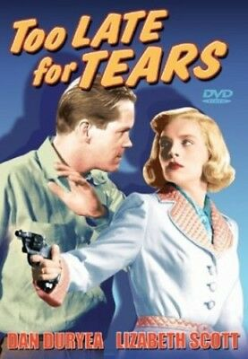 Too Late for Tears [New DVD] Black & White, Unrated