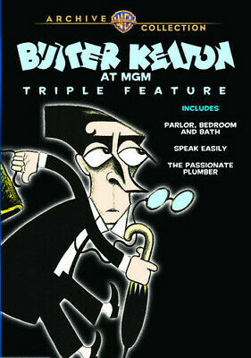 Buster Keaton - Buster Keaton at MGM Triple Feature [New DVD] Manufactured On De