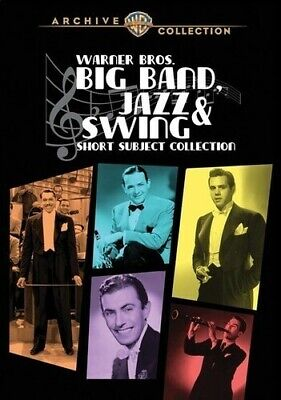 Warner Bros. Big Band Jazz & Swing-Short Subject [New DVD] Manufactured On Dem