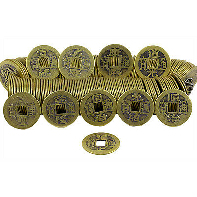 50pcs Feng Shui Chinese Qing Dynasty Coins Emperor Lucky Coins Collection gift