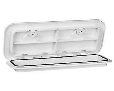 "18""X20"" MARINE BOAT DECK HATCH ACCESS WHITE HATCH -460mm x 510mm"