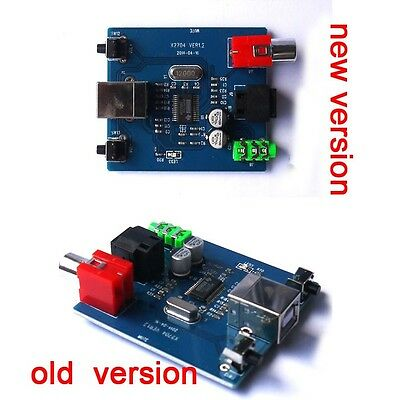 PCM2704 USB DAC to S/PDIF Sound Card Decoder Board 3.5mm Analog Output kb