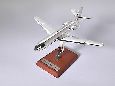 Atlas Editions 1:200 Scale Chrome Plated Sud Aviation Caravelle 1955  Nib #04