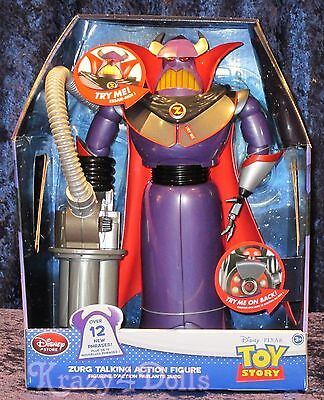 """Disney Toy Story 15"""" Talking Emperor Zurg Action Figure Doll NEW!"""
