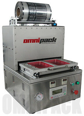Omnipack Pro 3122Map Map Tray Sealing Machine / Commercial Tray Sealer