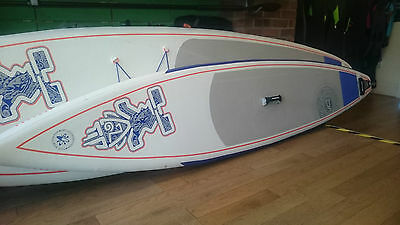 USED EX-HIRE Starboard ASTRO JUNIOR InflatableSUP Stand Up Paddle Board Package