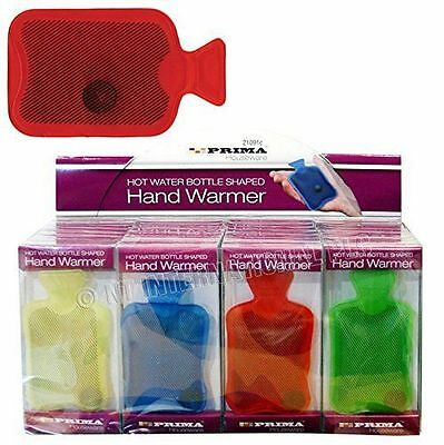 Gel Hand Warmer Hot Water Bottle Reusable Instant Heat Mini Pocket Glove Winte