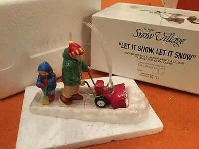 Dept 56 Snow Village Let It Snow - 54923