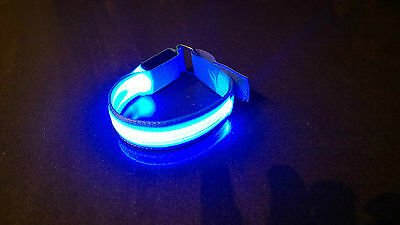 LED light Running Cycling Wristband Armband Runner's Night light Safety Outdoor