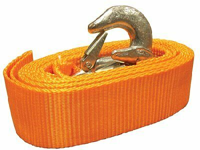 Heavy Duty Tow Rope 4.5 Ton Towing Strap 3.5 Metre Length With On Tow Sign 4500