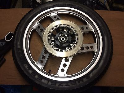 Honda CB125 /125 TDC Superdream Comstar Front Wheel and new Metzeler Tyre 300/18