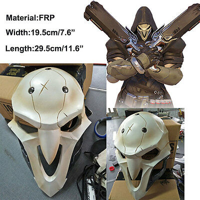Overwatch Reaper Mask Cosplay Costume Mask Hallowmas Fancy Ball Masquerade Toys
