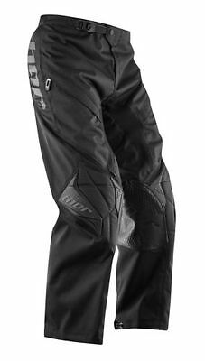 2016 Thor Phase Over The Boot Motocross Adult Pants, Black, US-30