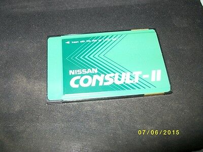 Nissan Consult 2 II ORIGINAL & USED Software Card Karte UPDATE ADAPTER E279