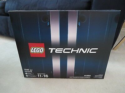 New Lego 4x4 Crawler Exclusive Limited Edition Technic 41999 Canada!