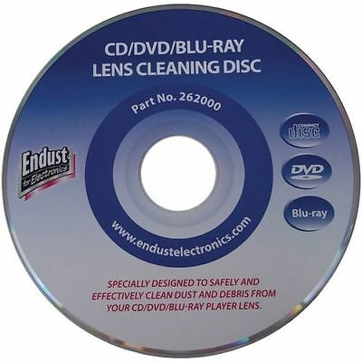 Lot of 50 Endust CD/DVD/Blu-ray Disc/XBOX 360/PS3 Lens Cleaner (262000)