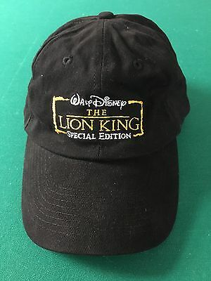 Walt Disney THE LION KING Special Edition Cap. One Size. Strapback