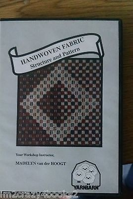 HANDWOVEN FABRIC - STRUCTURE &  PATTERN DVD Weaving Drafting Projects  VIDEO