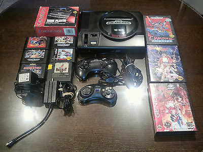 Sega genesis mark 1 bundle INCLUDING 8 Games & 4-player adapter