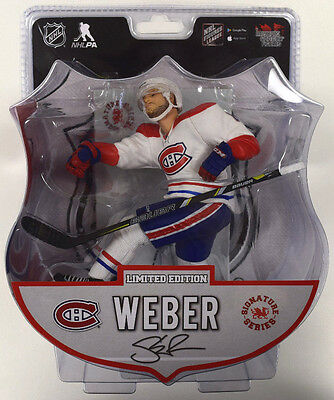 NHL Import Dragon Limited Edition Montreal Canadiens SHEA WEBER Action Figure