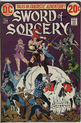 Sword of Sorcery Issue 2 from 1973 Scarce Fafhrd & Gray Mouser