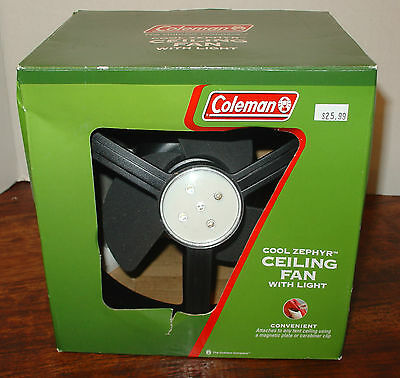 Coleman Cool Zephyr Ceiling Fan with LED Light Ceiling Fans